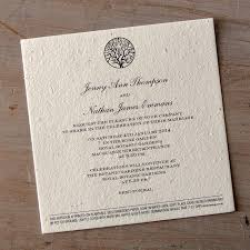 paper invitations enchanted tree plantable wedding invitations seed paper