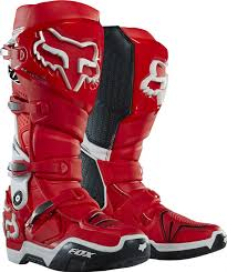 low motocross boots 2016 fox instinct 2 0 motocross boots red white super mx