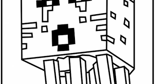 minecraft wolf coloring pages print archives cool coloring
