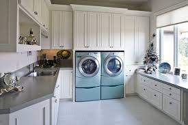 Laundry Room With Sink Laundry Room Sink With Cabinet Model Home Interiors