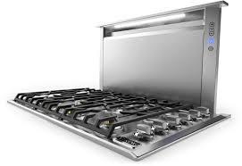 viking vdd5480ss 48 inch downdraft ventilation system with heat
