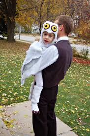 Halloween Owl Costume by Sarah Jane Sews A Harry Potter Halloween