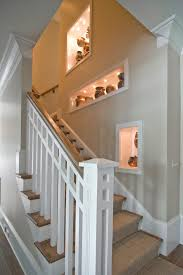 Ideas For Staircase Walls Decorating Wall Niche Ideas Staircase Traditional With Stair