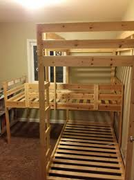 bedding build triple bunk free plans bedroom homemade beds built