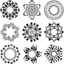 round ornament set stock vector art 165727613 istock