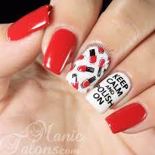 manic talons gel polish and nail art blog nail art
