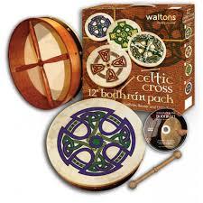 traditional gifts waltons 12 bodhran pack crossroads