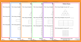 year 4 hidden shapes worksheets classroom secrets