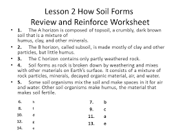 How The Earth Was Made Worksheet Answers Earth S Surface Chapter 2 Weathering And Soil Ppt