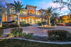 style mansions newly listed 10 5 million mediterranean style mansion in las