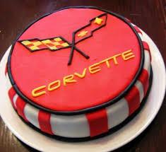 corvette birthday remarkable ideas corvette birthday cake and attractive logo