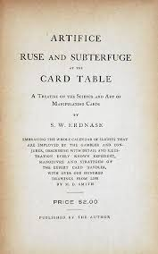 expert at the card table pdf looking for erdnase
