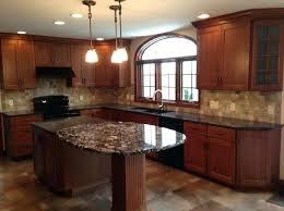 cherry cabinets with light granite countertops dark granite countertops with light cabinets cherry white