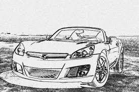 cartoon sports car black and white any sky sol cartoon art saturn sky forums saturn sky forum