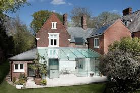 house plans that look like old houses old house gets an all glass extension