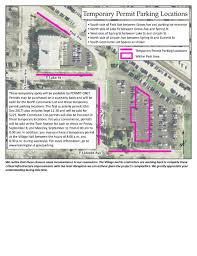 Chicago Permit Parking Map by Parking In The Village Village Of Barrington