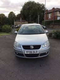 volkswagen polo 1 4 2006 silver manual heated seats ideal