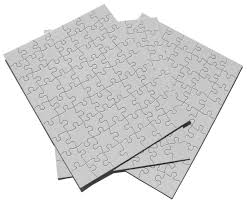blank paper to write on the computer amazon com inovart puzzle it 63 piece blank puzzle 12 puzzles amazon com inovart puzzle it 63 piece blank puzzle 12 puzzles per package 8 1 2