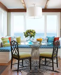 Zebra Dining Room Chairs Blooming Jonathan Adler Dining Table With Black Bamboo Chairs Coastal