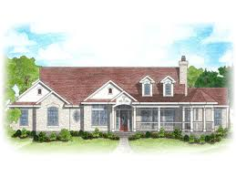 House Plans With A Wrap Around Porch by Unique Ranch House W Steel Roof U0026 Wrap Around Porch Hq Plans