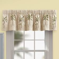 Contemporary Valance Curtains Kitchen Curtains Palm Tree 28 Images Curtain Kitchen Palm Tree