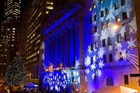 nyse 92nd annual tree lighting and closing bell