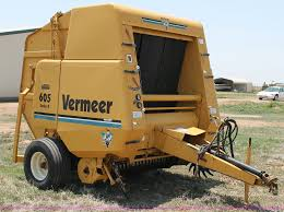 1995 vermeer 605k round baler item g5755 sold july 10 a