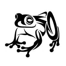 10 beautiful tribal frog tattoos only tribal zentangle