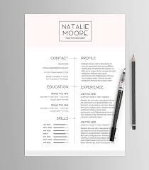 résumé template no 5 bundle job search kit stylized cv