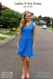 pattern a line shift dress a line shift dress by jocole pattern revolution