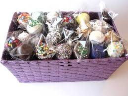 cake gift baskets cake pops a gourmet treat splash magazines los angeles