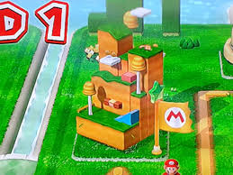 Paper Mario World Map by Super Mario 3d World Cake Gaming