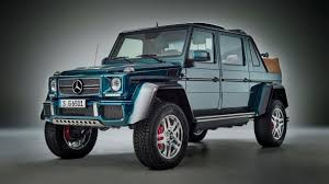 mercedes maybach revealed the 621bhp mercedes maybach g650 landaulet top gear