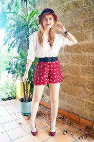 how to wear shorts for pear shaped women fashion pinterest
