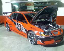 fast and furious evo mitsubishi lancer evo from fast and furious tokyo drift cars