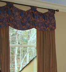 greensboro interior design window treatments greensboro custom window valance with tab top this greensboro nc window looked much larger once we hung this custom valance in the bedroom