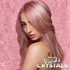 hair crystals pravana introduces inspired hues to its line of vivids