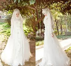 islamic wedding dresses top model of veil for islamic wedding dresses