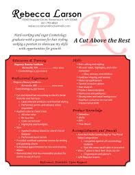 cosmetologist resume 100 cosmetology instructor resume sle best 25 cover