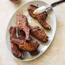 sweet and tangy grilled country style pork ribs