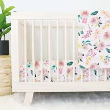 Brown And Pink Crib Bedding Baby Crib Bedding Caden