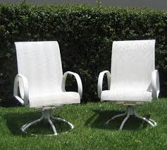 Replacing Fabric On Patio Chairs Mallin Patio Furniture Replacement Slings In Irvine California