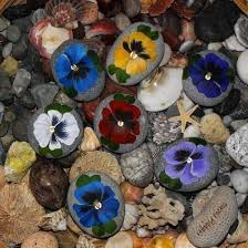 Painting Rocks For Garden 50 Garden Decorating Ideas Using Rocks And Stones
