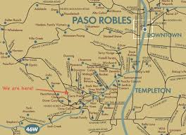 paso robles winery map the