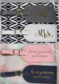 and groom luggage tags these 100 leather luggage tags would make an adorable gift for