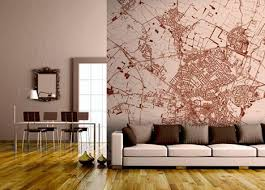 Map Wall Decor by City Map Wall Decor Realestate Office Custom Map