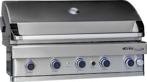 Backyard Grill 5 Burner Gas Grill Reviews Turbo Elite 5 Burner Built In Gas Grill Contemporary Outdoor