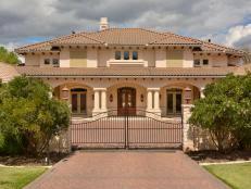 mediterranean style mansions tour a mediterranean inspired villa in dallas hgtv s