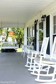Cozy Front Porch Chairs On Keeping It Cozy A Snowball Bush