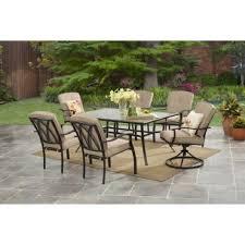 7 Piece Outdoor Patio Dining Set - meadow decor kingston 7 piece round patio dining set pacifica 7